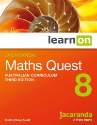 Jacaranda Maths Quest 8 Australian Curriculum 3E LearnON (Online Purchase) Image