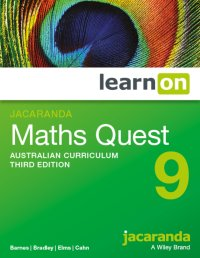 Jacaranda Maths Quest 9 Australian Curriculum 3E LearnON (Online Purchase) Image