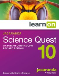 Jacaranda Science Quest 10 Victorian Curriculum   Revised Edition LearnON (Online Purchase) Image