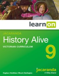 Jacaranda History Alive 9 Victorian Curriculum LearnON (Online Purchase) Image