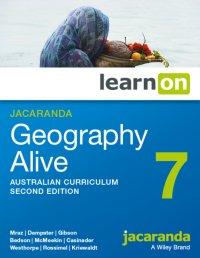 Jacaranda Geography Alive 7 Australian Curriculum 2E LearnON (Online Purchase) Image