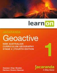 Jacaranda Geoactive 1 Stage 4 NSW Australian Curriculum LearnON (Online Purchase) Image