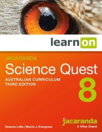 Jacaranda Science Quest 8 Australian Curriculum 3E LearnON (Online Purchase) Image