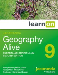Jacaranda Geography Alive 9 Australian Curriculum 2E LearnON (Online Purchase) Image