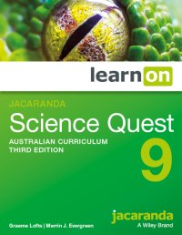 Jacaranda Science Quest 9 Australian Curriculum 3E LearnON (Online Purchase) Image