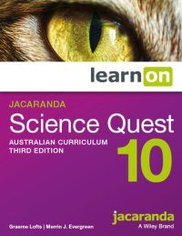 Jacaranda Science Quest 10 Australian Curriculum 3E LearnON (Online Purchase) Image