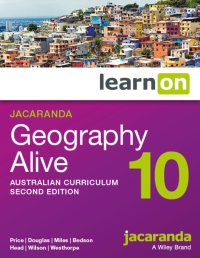 Jacaranda Geography Alive 10 Australian Curriculum2e LearnON (Online Purchase) Image