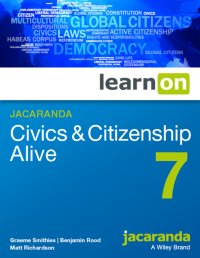 Jacaranda Civics & Citizenship Alive 7 LearnON (Online Purchase) Image