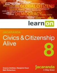 Jacaranda Civics & Citizenship Alive 8 LearnON (Online Purchase) Image