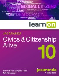 Jacaranda Civics & Citizenship Alive 10 LearnON (Online Purchase) Image