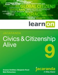 Jacaranda Civics & Citizenship Alive 9 LearnON (Online Purchase) Image
