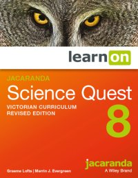 Jacaranda Science Quest 8 Victorian Curriculum    Revised Edition LearnON (Online Purchase) Image
