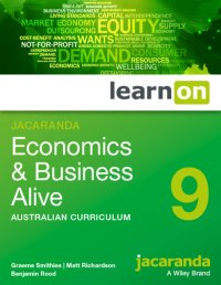 Jacaranda Economics and Business Alive 9 Australian Curriculum LearnON (Online Purchase) Image