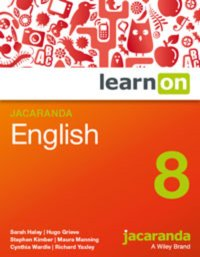 Jacaranda English 8 LearnON (Online Purchase) Image