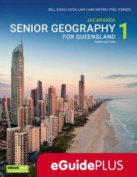 Jacaranda Senior Geography 1 for Queensland Units 1&2 3E eGuidePLUS (Online Purchase) Image