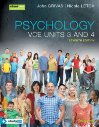 Psychology VCE Units 3&4 7E eBookPLUS & Print + StudyOn VCE Psychology Units 3&4 3E (Book Code) Image