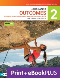 Jacaranda Outcomes 2 Personal Development, Health and Physical Education HSC 6E eBookPLUS & Print + StudyOn HSC Pdhpe 2E (Book Code) Image