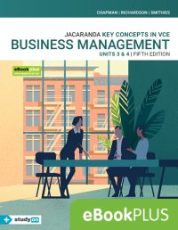 Key Concepts in VCE Business Management Units 3&4 5E Ebook (Online Purchase) + StudyOn VCE Business Management Units 3&4 3E (Online Purchase) Image