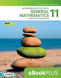Jacaranda Maths Quest 11 General Mathematics VCE U1&2 2E eBookPLUS (Online Purchase) + StudyOn VCE General Mathematics Units 1&2 (Online Purchase) Image
