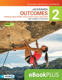 Jacaranda Outcomes 2 Personal Development, Health and Physical Education HSC 6E eBookPLUS (Online Purchase) + StudyOn HSC Pdhpe 2E (Online Purchase) Image