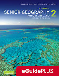 Jacaranda Senior Geography 2 for Queensland Units 3&4 3E eGuidePLUS (Online Purchase) Image