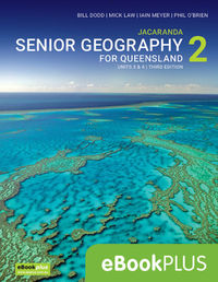 Jacaranda Senior Geography 2 for Queensland Units 3&4 3E eBookPLUS (Online Purchase) Image
