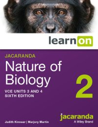 Jacaranda Nature of Biology 2 VCE Units 3 and 4 6E LearnON (Online Purchase) Image