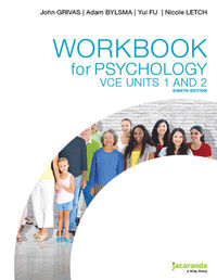 Workbook for Psychology VCE Units 1&2 8E Image