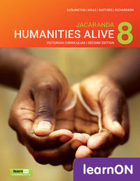 Jacaranda Humanities Alive 8 Victorian Curriculum 2E LearnON (Online Purchase) Image