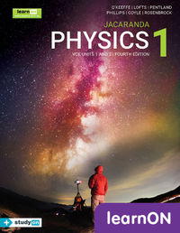 Jacaranda Physics 1 VCE Units 1 and 2 4E LearnON (Online Purchase) Image