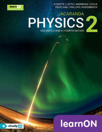Jacaranda Physics 2 VCE Units 3 and 4 4E LearnON (Online Purchase) Image