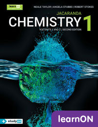 Jacaranda Chemistry 1 VCE Units 1 and 2 2E LearnON (Online Purchase) Image