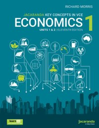 Jacaranda Key Concepts in VCE Economics 1 Units 1 and 2 11E LearnON and Print Image