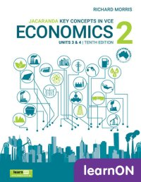 Key Concepts in VCE Economics 2 Units 3 and 4 10E LearnON (Online Purchase) Image