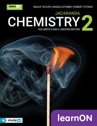 Jacaranda Chemistry 2 VCE Units 3 and 4 2E LearnON (Online Purchase) Image