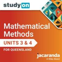 StudyOn Mathematical Methods Units 3 & 4 Queensland (Online Purchase) Image
