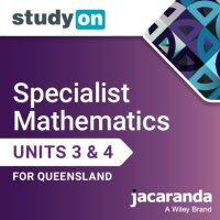 StudyOn Specialist Mathematics U3&4 Queensland (Online Purchase) Image