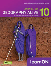 Jacaranda Geography Alive 10 Victorian Curriculum 2E LearnON (Online Purchase) Image