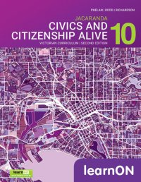 Jacaranda Civics & Citizenship Alive 10 Victorian Curriculum 2E LearnON (Online Purchase) Image