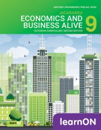 Economics and Business Alive 9 Victorian Curriculum 2E LearnON (Online Purchase) Image