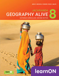 Jacaranda Geography Alive 8 Victorian Curriculum 2E LearnON (Online Purchase) Image