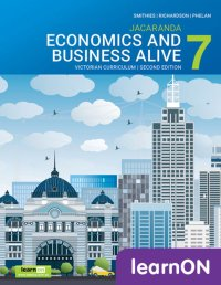 Jacaranda Economics and Business Alive 7 Victorian Curriculum 2E LearnON (Online Purchase) Image