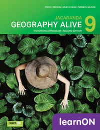 Jacaranda Geography Alive 9 Victorian Curriculum 2E LearnON (Online Purchase) Image