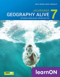 Jacaranda Geography Alive 7 Victorian Curriculum 2E LearnON (Online Purchase) Image