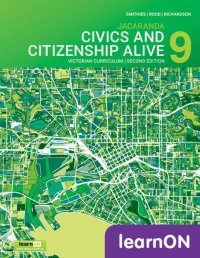 Jacaranda Civics & Citizenship Alive 9 Victorian Curriculum 2E LearnON (Online Purchase) Image