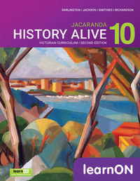History Alive 10 Victorian Curriculum 2E LearnON (Online Purchase) Image