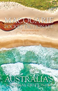Macquarie Pocket Dictionary + Thesaurus 5E Image