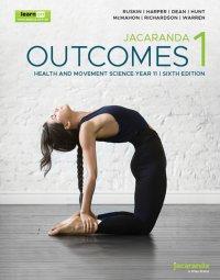 Jacaranda Outcomes 1 Health and Movement Sciences Year 11 6E LearnON & Print Image