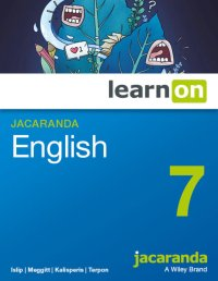 Jacaranda English 7 LearnON (O) Image