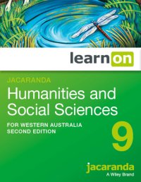 Jacaranda Humanities and Social Sciences 9 for    Western Australia 2E LearnON (O) Image